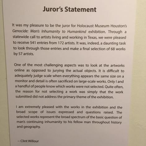 Juror Statement