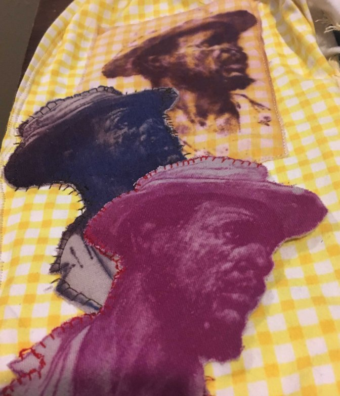 """New Tapestry: """"He Spit His Whole Chew on My New Dress"""""""