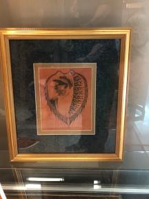 leather burned art image
