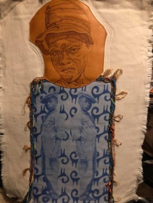 Quilted Fabric Art: Sons of Her Thunder-Not Another Boy Harmed